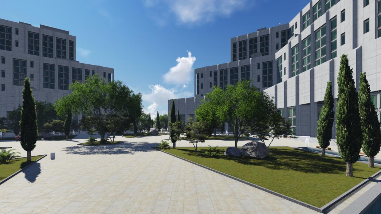 Tashkent city in SketchUp vray 2.5 image