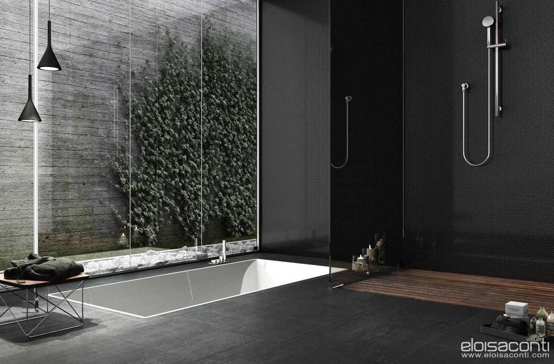 Підвал ванна кімната ремонт... в Cinema 4d vray зображення