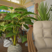 Winter Garden in 3d max vray 3.0 image