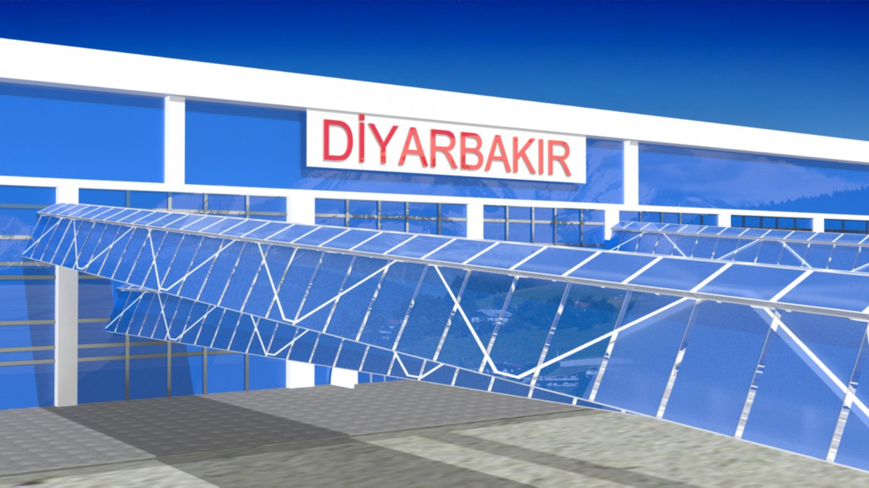 3D diş mekan in 3d max mental ray image