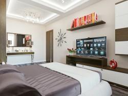 Camera da letto minimalismo