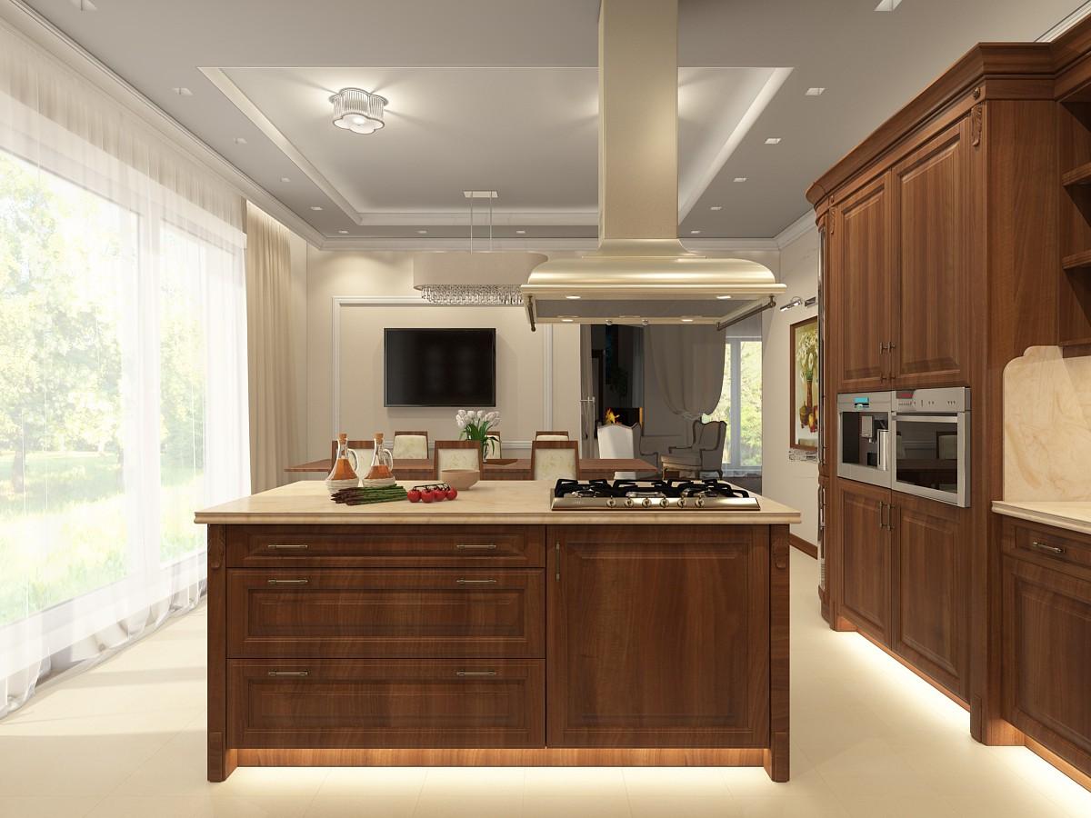 kitchen in Maya vray 3.0 image