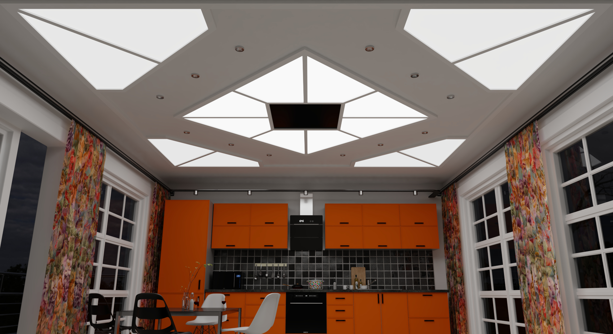 ceilings in Blender cycles render image