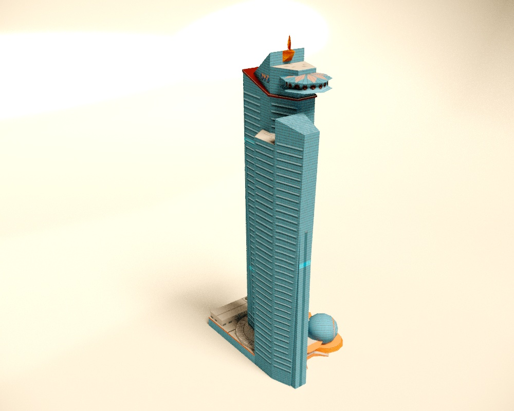 For MAPS Project in 3d max corona render image
