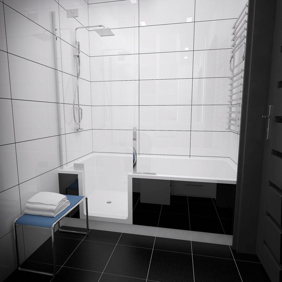 3d визуализация проекта Ванная в 3d max, рендер vray от Evgenyus112