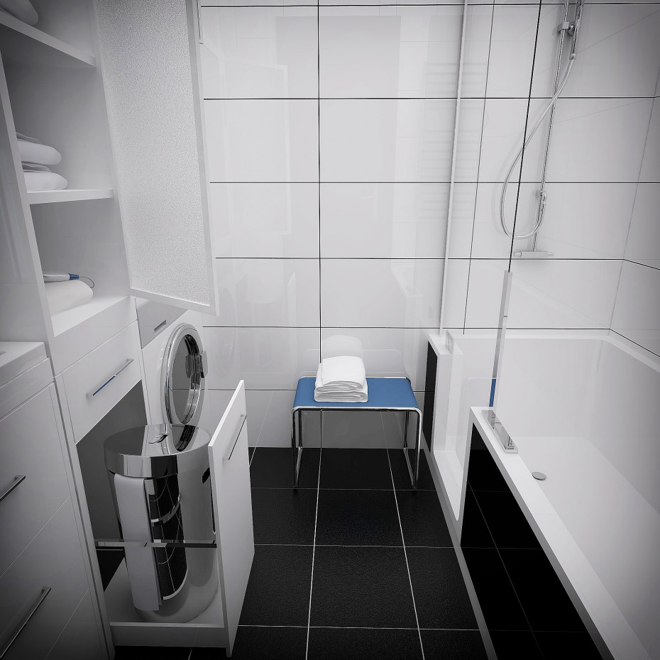 Ванна в 3d max vray зображення