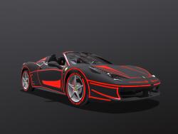 Ferrari-Spinne