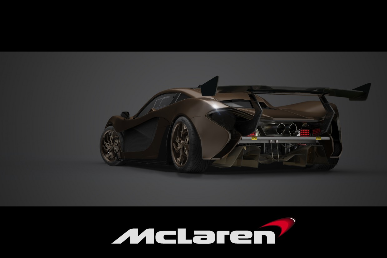McLaren p1 GT in 3d max Other image