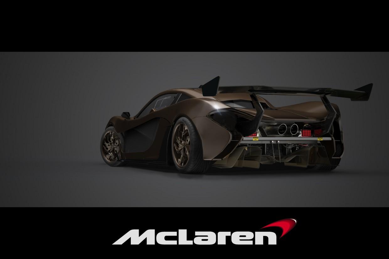 Mclaren p1 GT в 3d max Other изображение