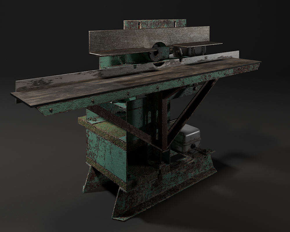 Small country carpentry. in 3d max corona render image