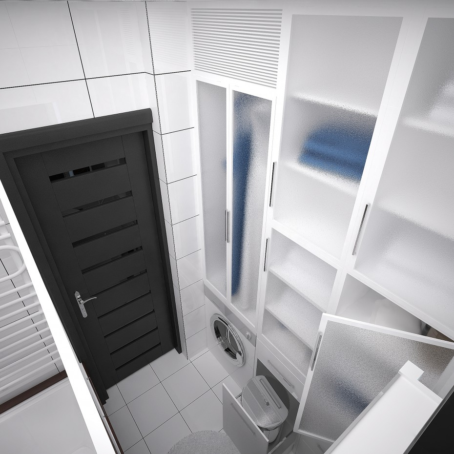 Bathroom variant 2 in 3d max vray image