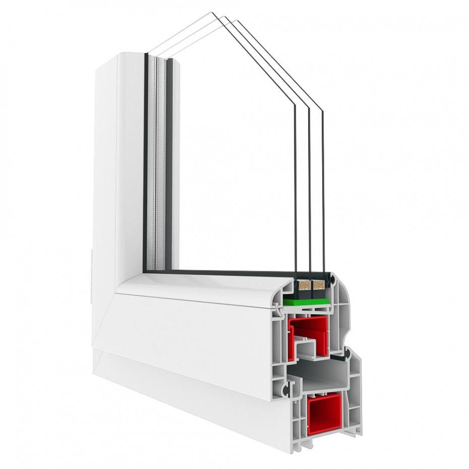 imagen de Perfiles de la ventana en 3d max corona render