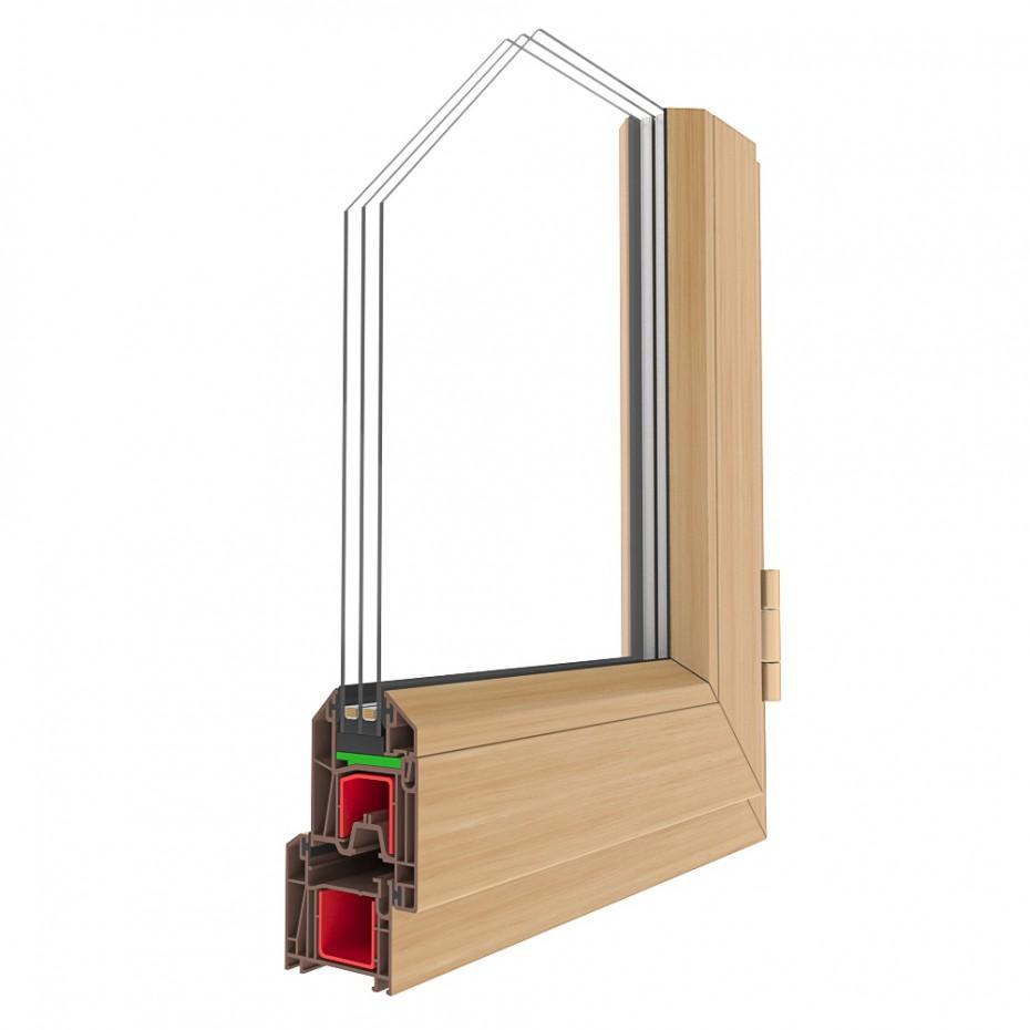 Віконні профілі - 10 штук в 3d max corona render зображення