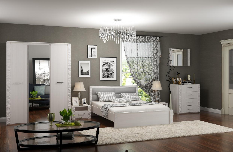 """3D Visualisierung des Projektes in der Schlafzimmer """"Relana"""" 3d max , Rendern vray 2.0 von Еlizaweta"""