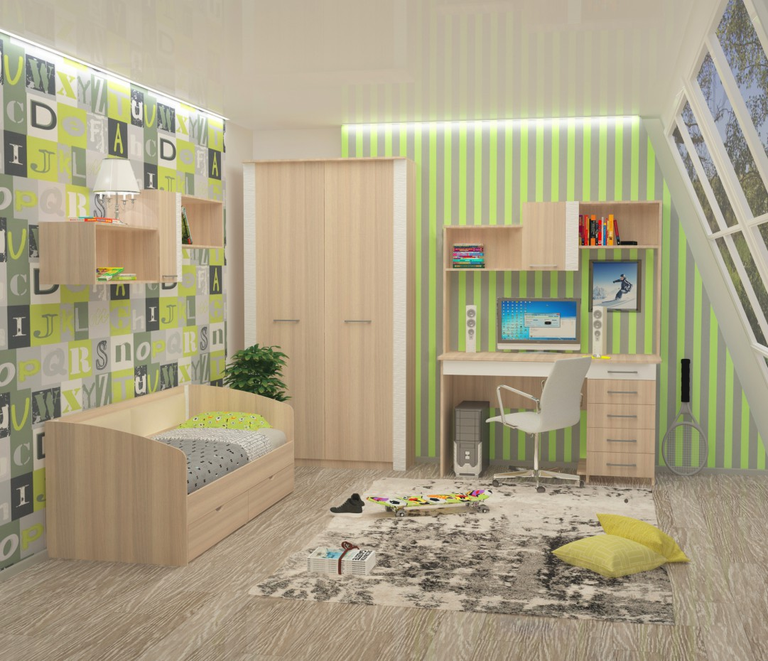 Nursery RELA in 3d max vray 2.0 image