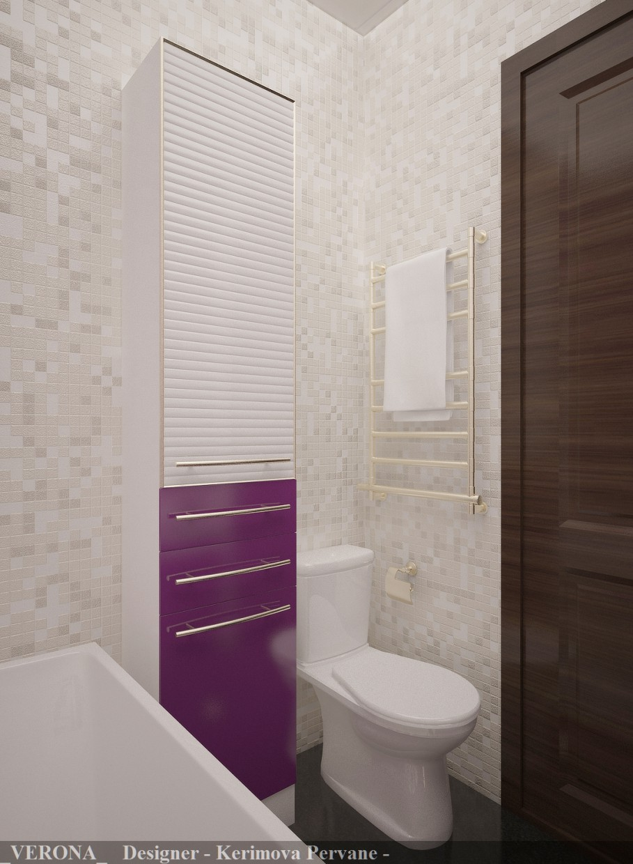 Bath room  in  3d max   vray  image