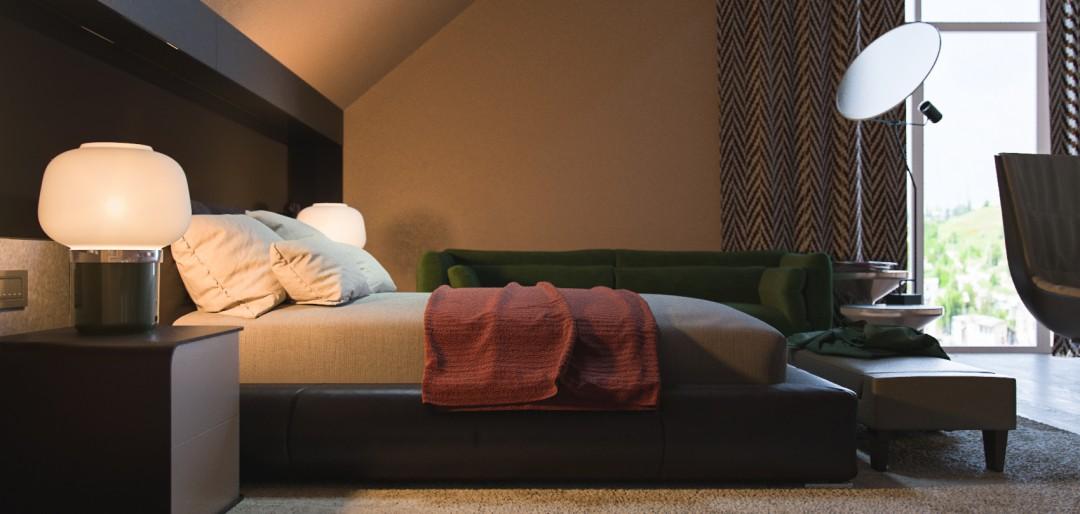 Boy's Bedroom в 3d max corona render зображення
