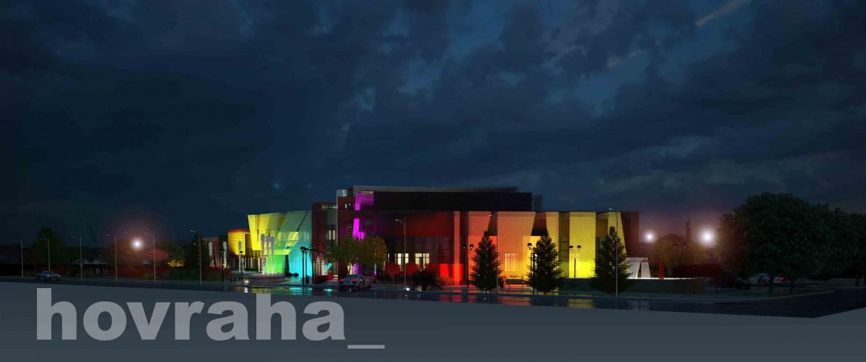 3d візуалізація проекту Бізнес центр в 3d max, рендер vray від Hovraha_