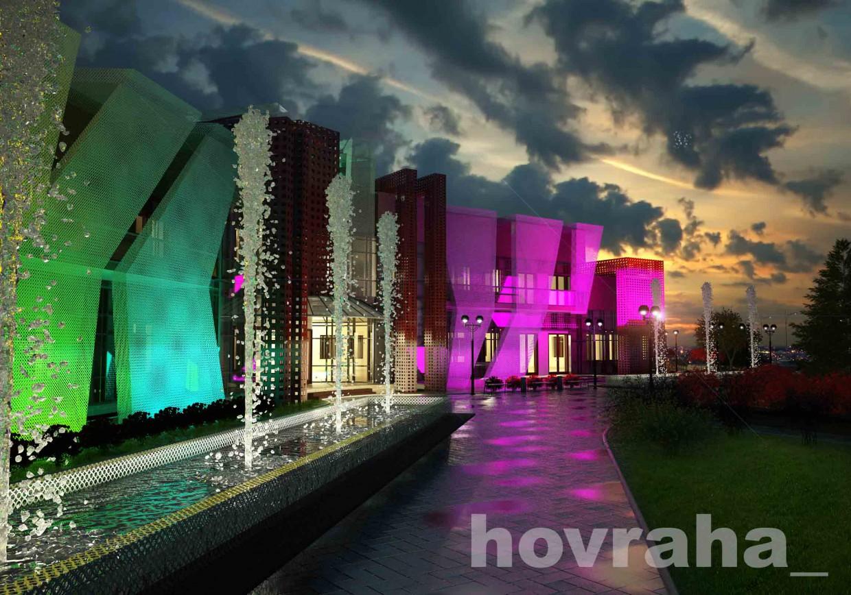 imagen de Centro de negocios en 3d max vray