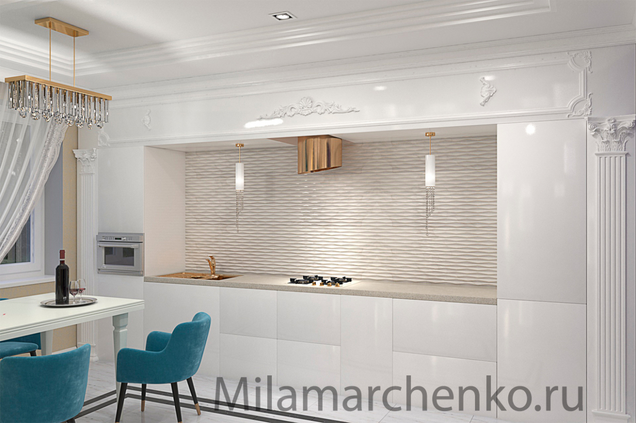 Rimma kitchen in 3d max vray 3.0 image