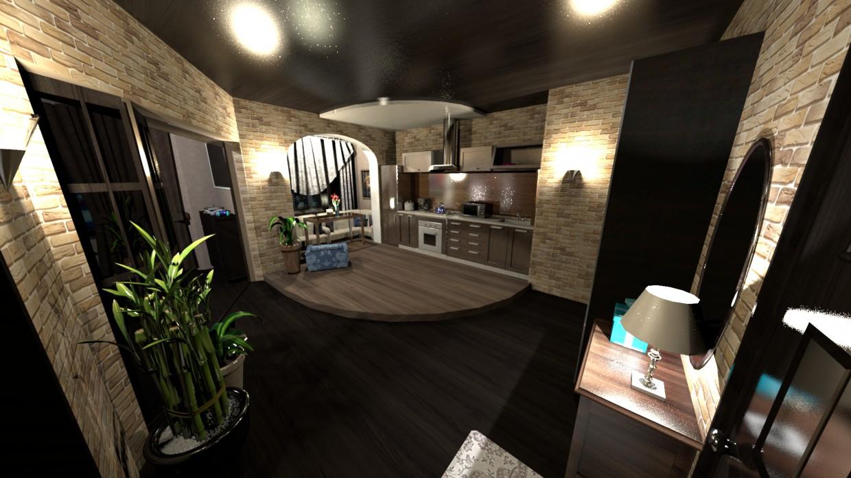 imagen de Apartamento de una habitación. (Pasillo) en Otra cosa Other