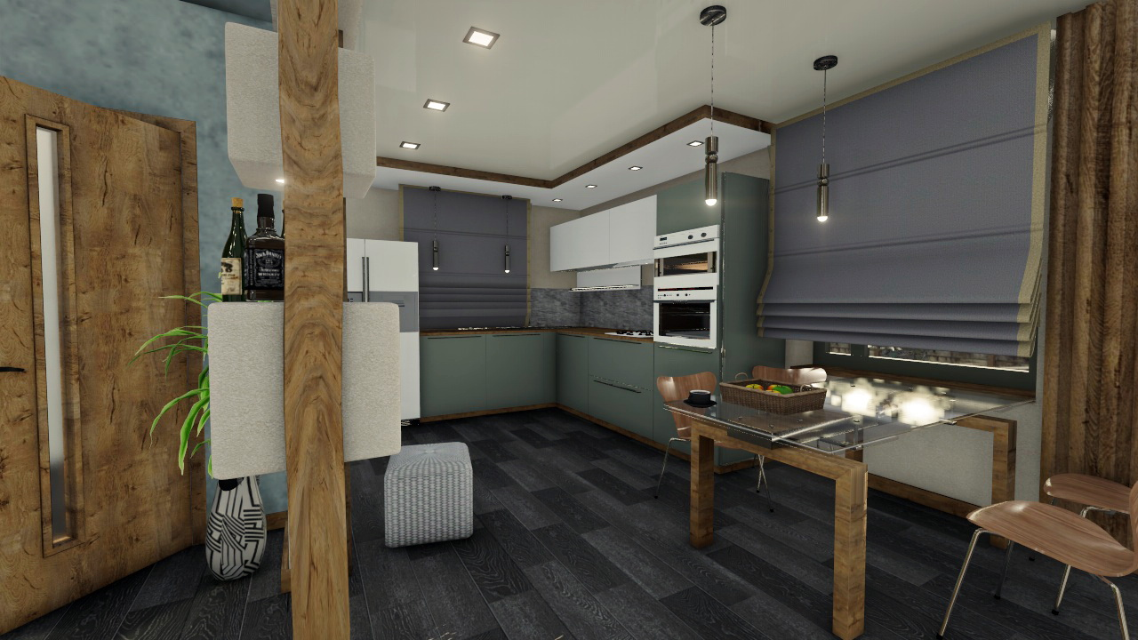 Eco minimalism in 3d max Other image