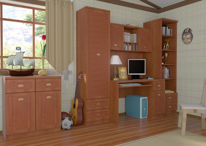 furniture in interior visualisation in Maya mental ray image