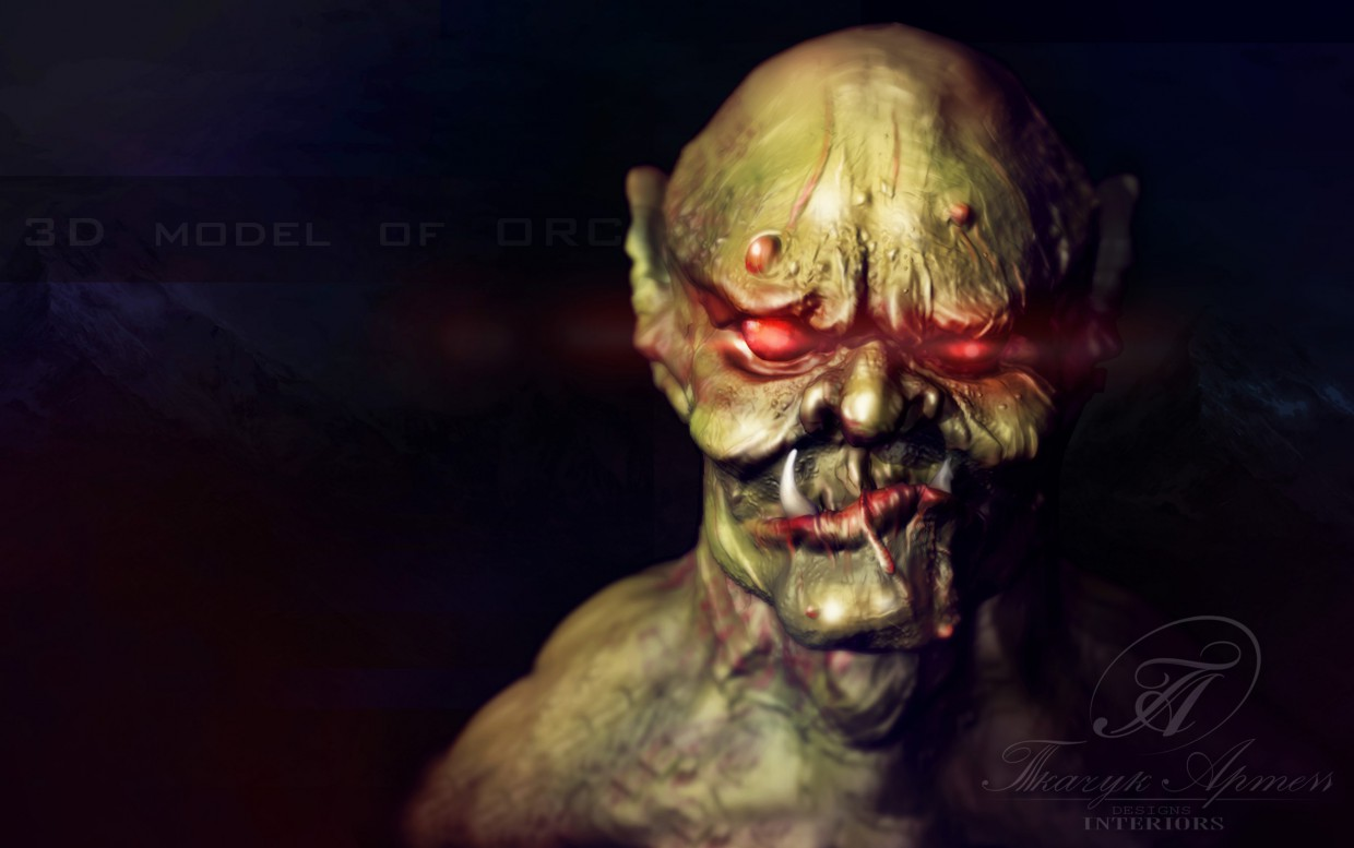 ORC in 3d max vray image