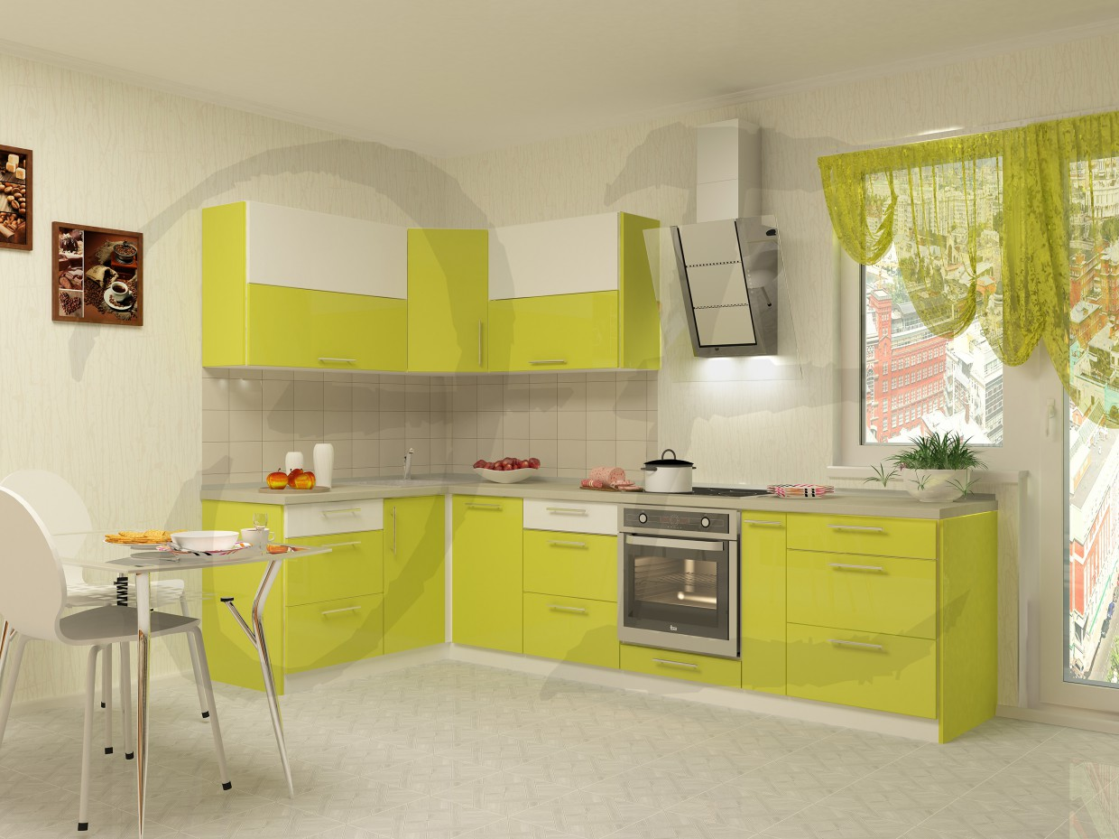 summer kitchen in 3d max vray 2.0 image