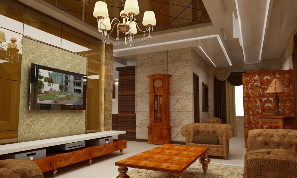 Guest house  in  3d max   vray  image
