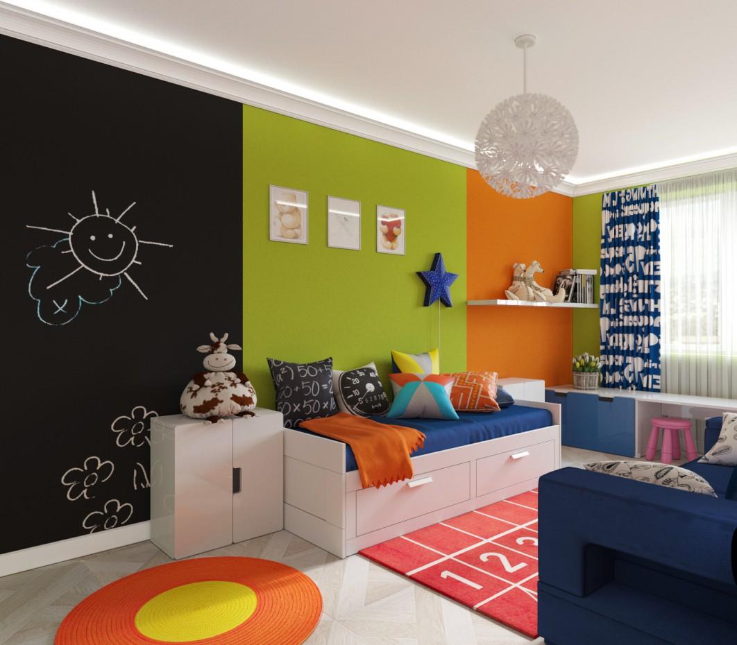 Детская в 3d max corona render изображение