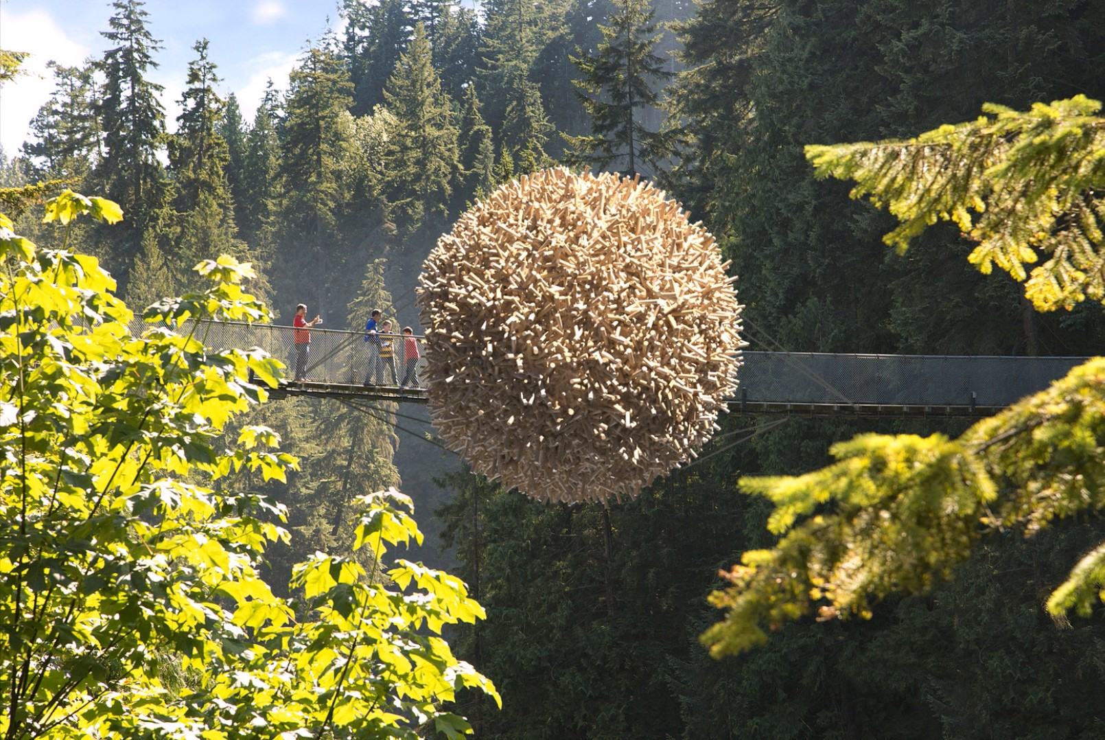 Nest for humans in 3d max corona render image