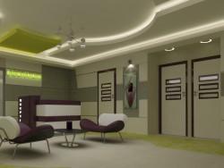 Laboratory lobby