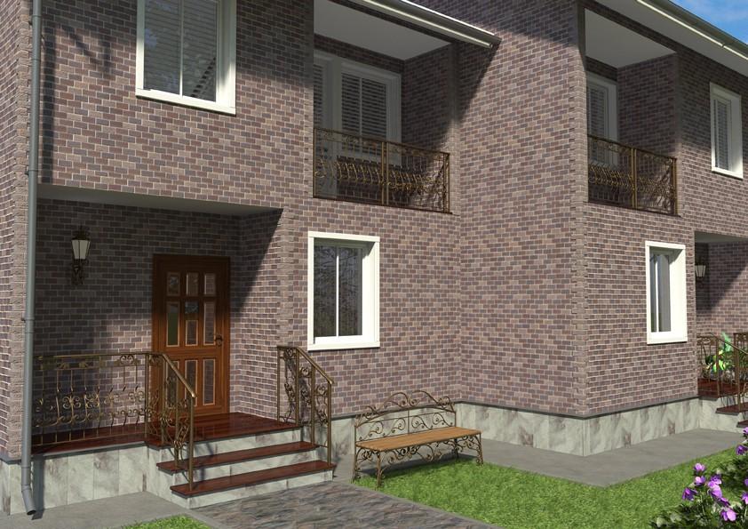 визуализация здания в Maya mental ray изображение