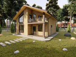 दो मंजिला निजी घर