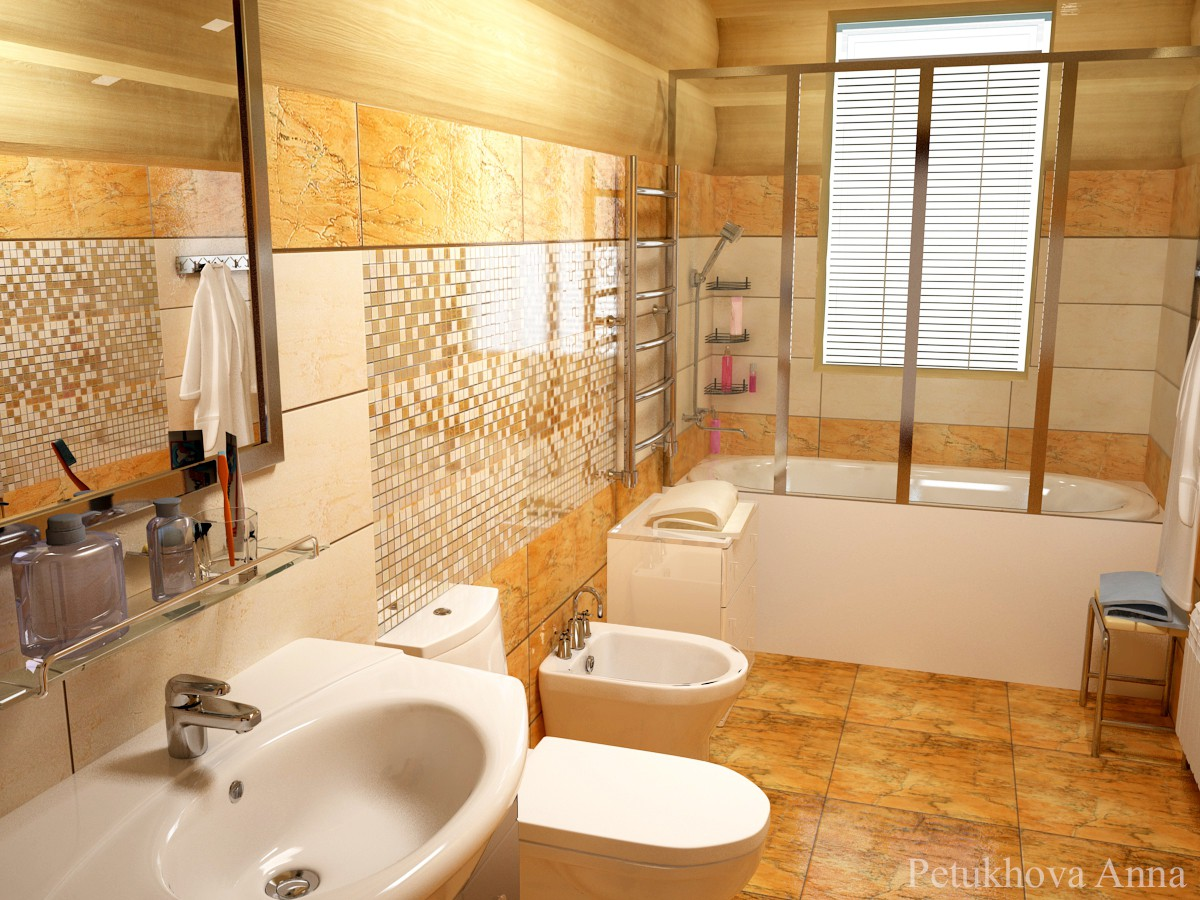 WC in 3d max vray immagine