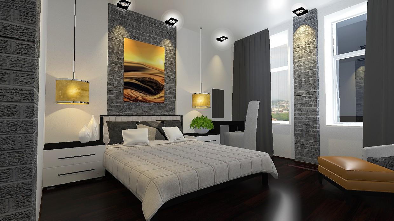 imagen de Las habitaciones interiores del hotel en Otra cosa maxwell render