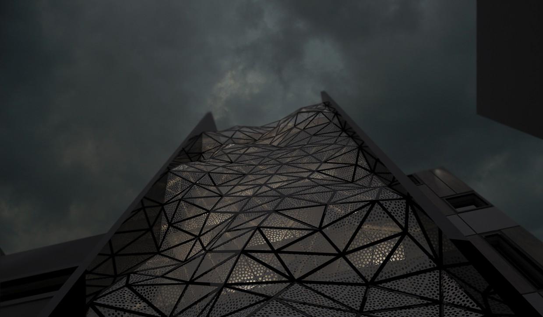 imagen de Fachada paramétrico en 3d max vray