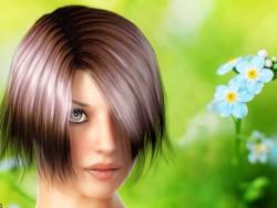 Portrait d'une jeune fille