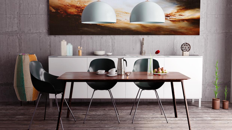 Kitchen still life in Blender cycles render image