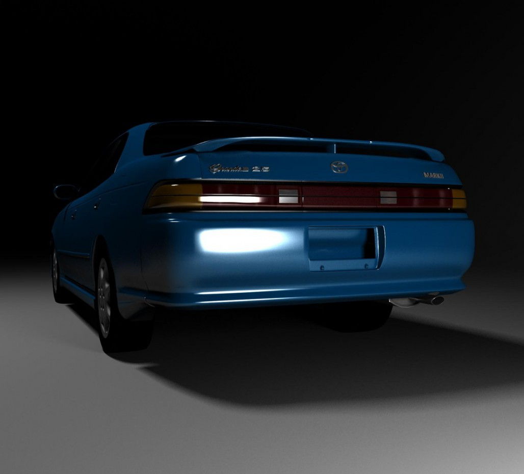 Mark ii jzx90 in 3d max vray image