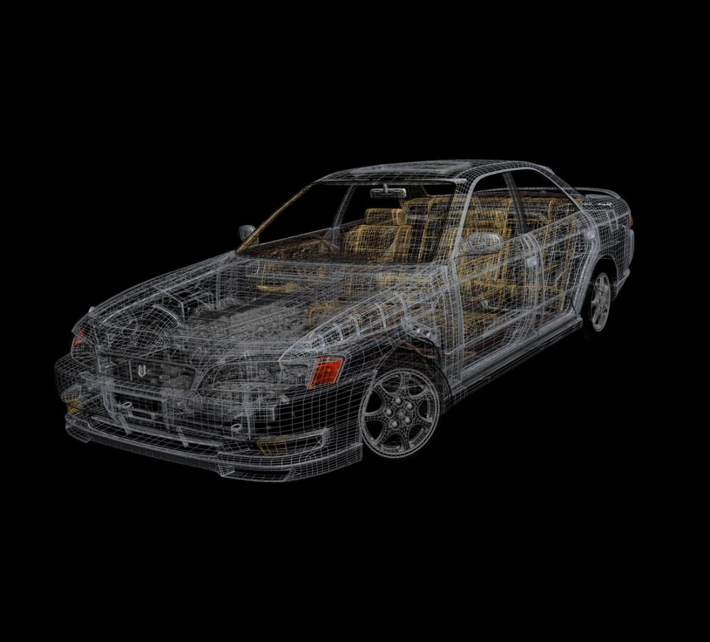 Mark ii jzx90 в 3d max vray изображение