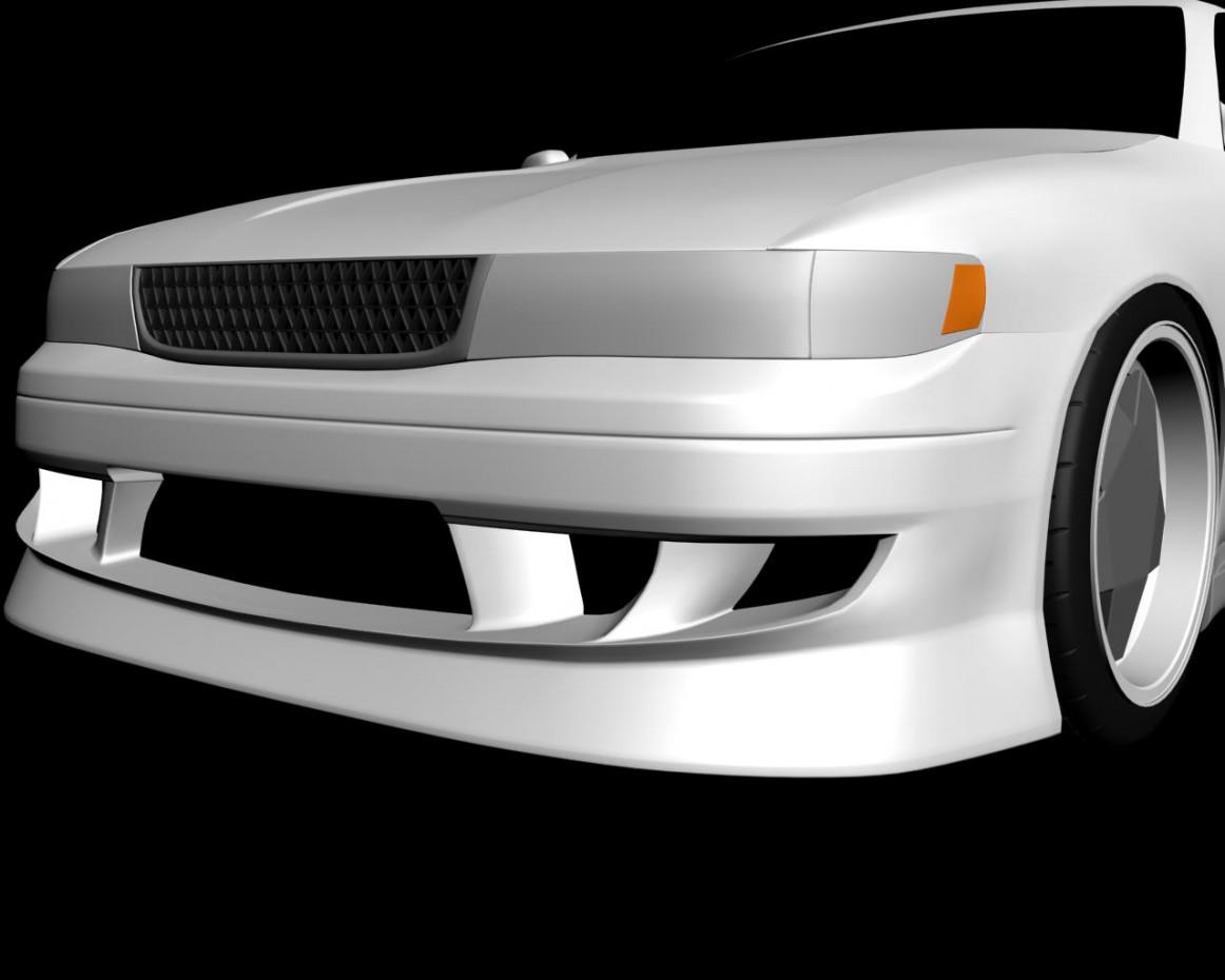 imagen de Chaser jzx90 en 3d max vray