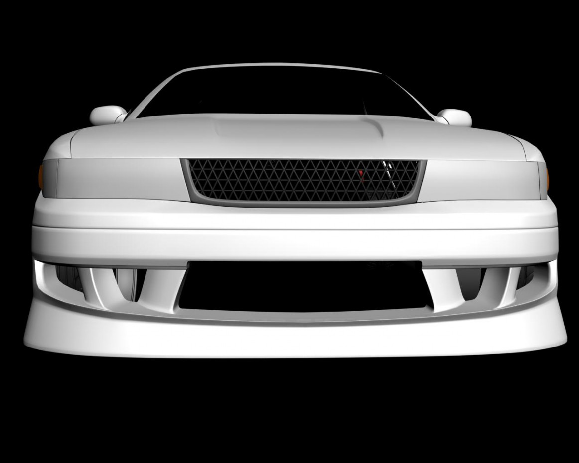 Chaser jzx90 in 3d max vray image