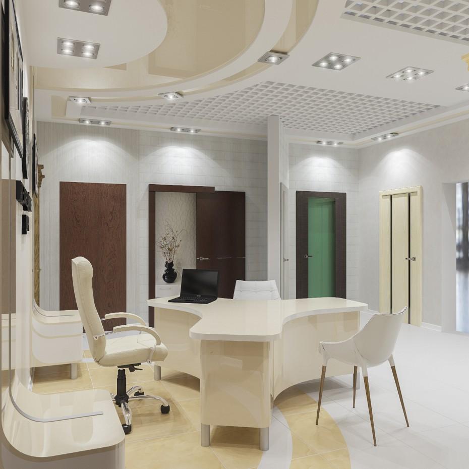 imagen de Puertas de salón en 3d max corona render