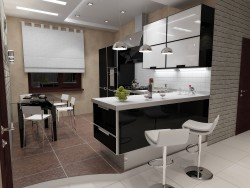 Кухня-вітальня