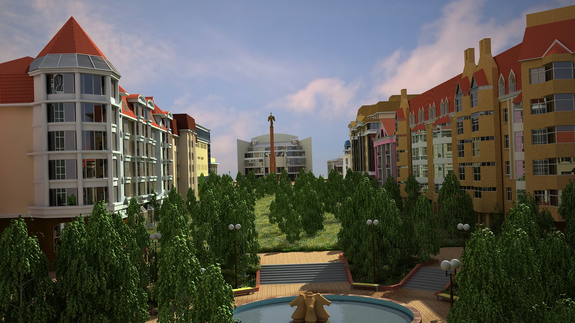 53 quarter reconstruction. in 3d max vray 2.0 image