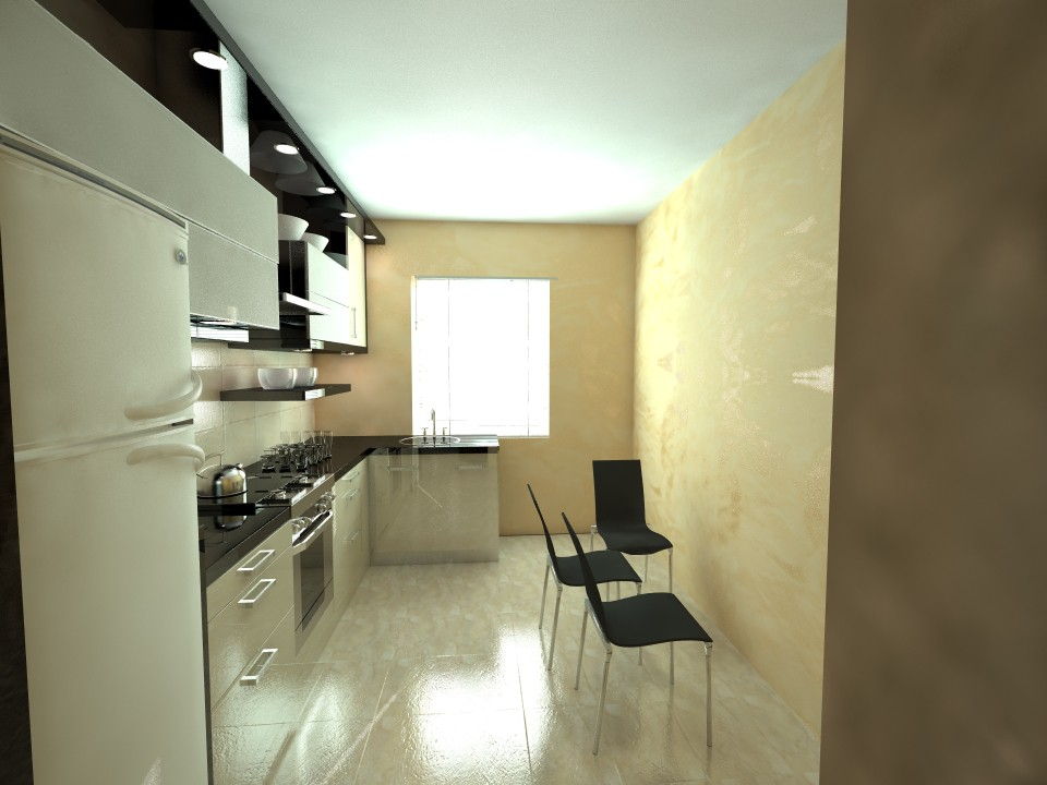 3d visualization of the project in the kitchen 3d max, render vray of Лавренюк Людмила Анатольевна