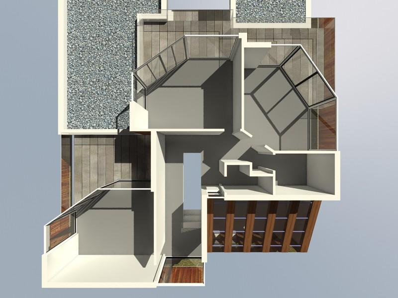 Пляжний будинок в 3d max vray 2.0 зображення