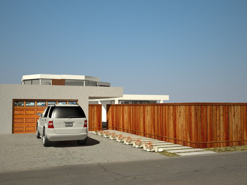 imagen de Casa en la playa en 3d max vray 2.0